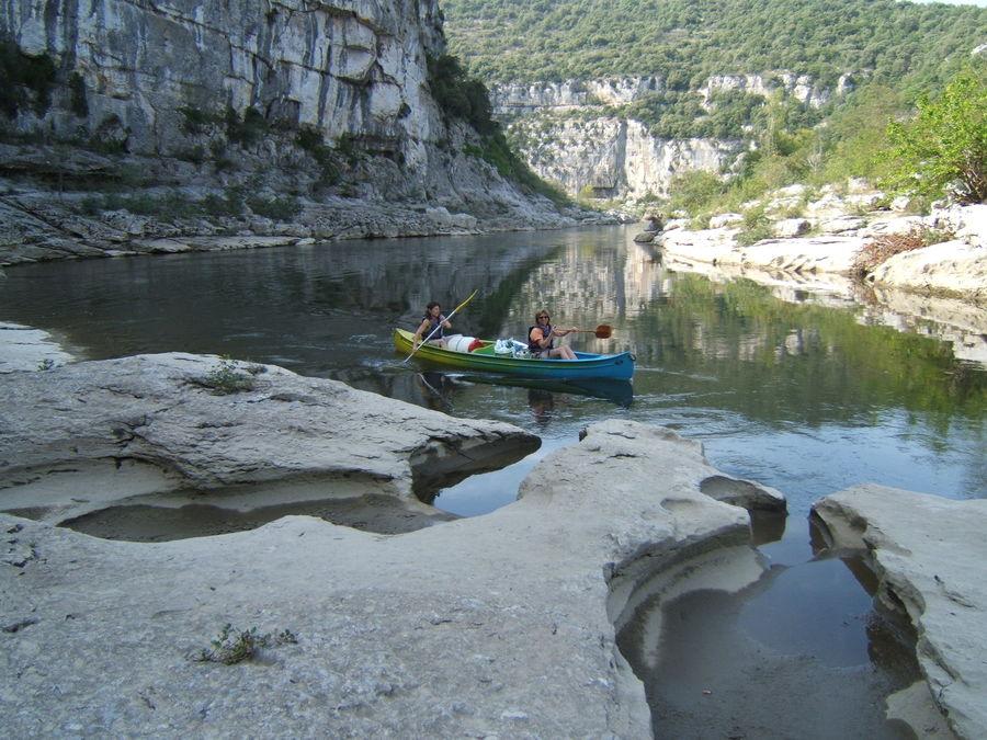 Séjour Sportif, Descente de Gorges de L'Ardèche